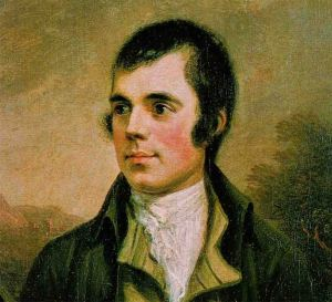 Robert Burns, mindful even in the 18th century.