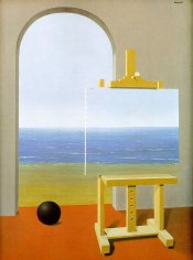 The Human Condition by Magritte