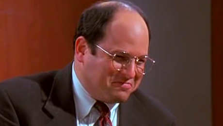 Post-mortem playback with George Costanza from Seinfeld